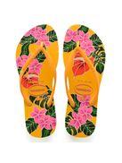 Havaianas-Slim-Floral---Amarelo