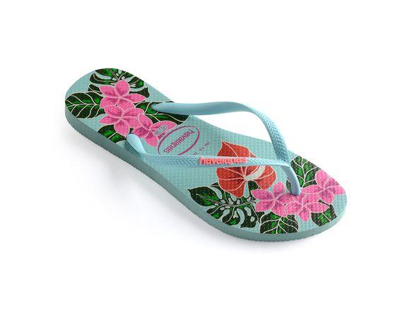 Havaianas-Slim-Floral---Azul