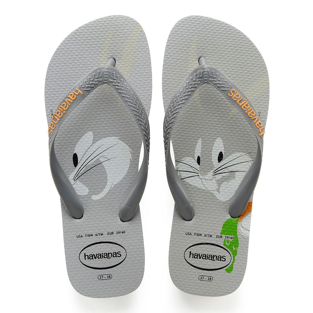 0545741b7ea Havaianas Looney Tunes Cinza